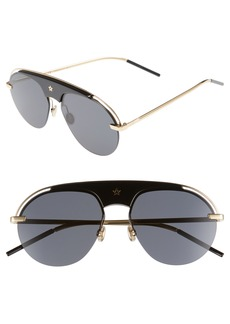 Christian Dior Revolution 58mm Aviator Sunglasses