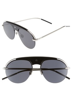 Dior Revolution 58mm Aviator Sunglasses