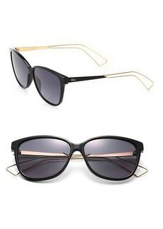Christian Dior 'Confident 2' 57MM Square Sunglasses