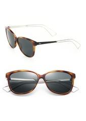Christian Dior Confident 57MM Square Sunglasses