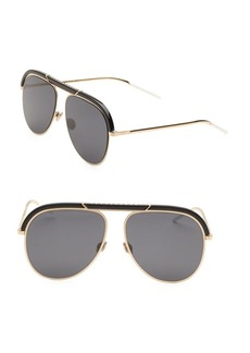 Christian Dior Desertic 58MM Aviator Sunglasses