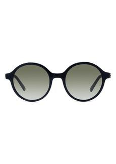 Christian Dior Dior 30Montaigne Mini 51mm Gradient Round Sunglasses