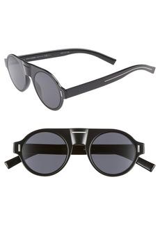 Christian Dior Dior 47mm Round Sunglasses