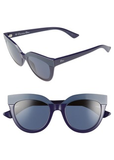 Dior 51mm Cat Eye Sunglasses