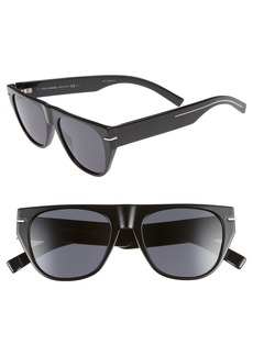 Christian Dior Dior 53mm Flat-Top Sunglasses