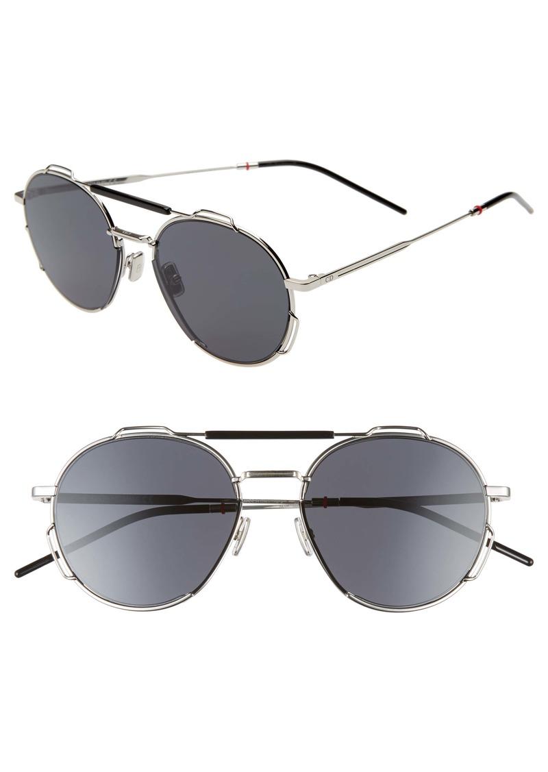 Christian Dior Dior 54mm Round Sunglasses