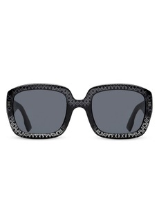 Christian Dior Dior 54MM Square Sunglasses