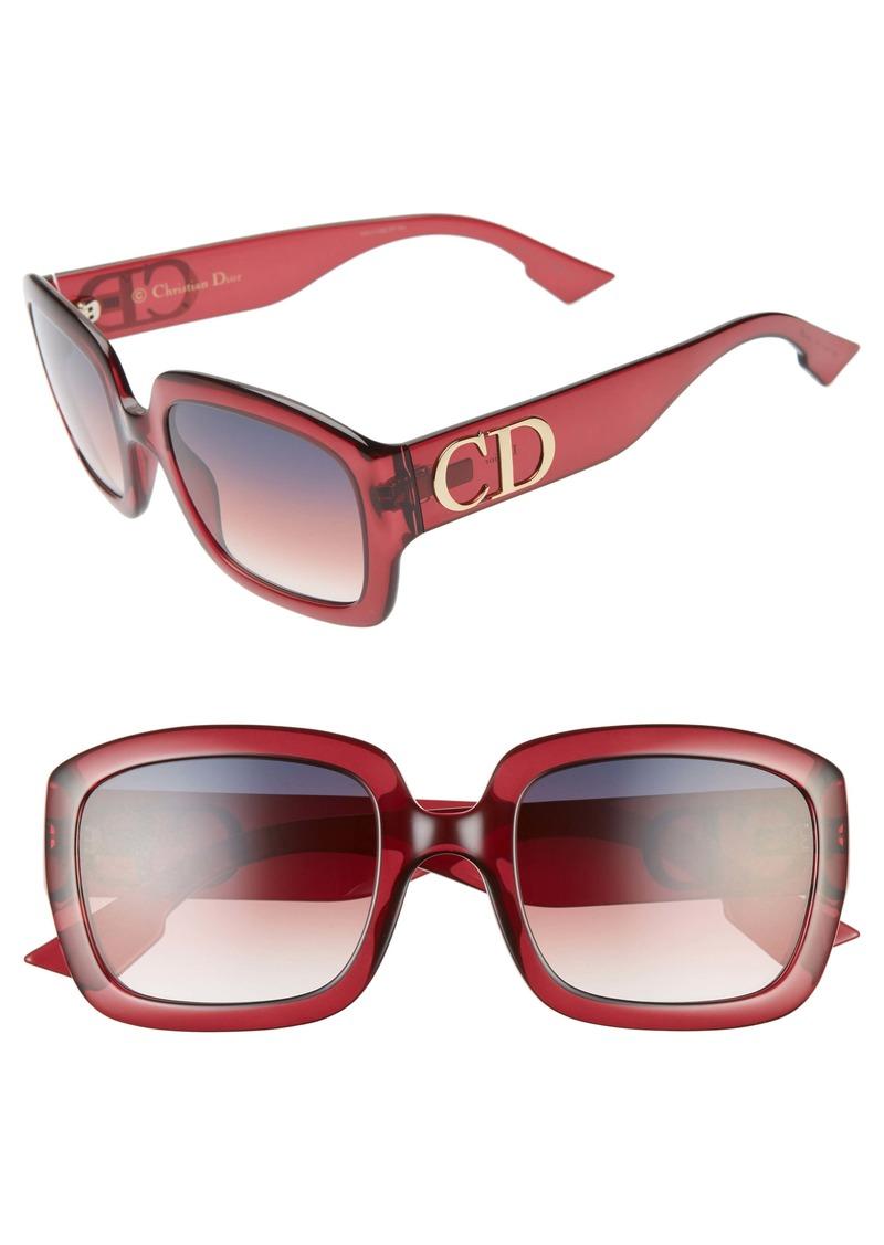 Christian Dior Dior 54mm Square Sunglasses