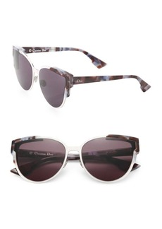 Christian Dior 60mm Wild Dior Cateye Sunglasses
