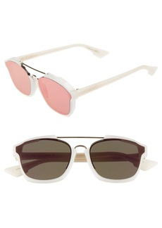 Christian Dior Dior Abstract 58mm Brow Bar Sunglasses