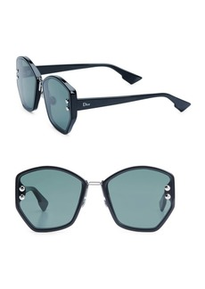 Christian Dior Dior Addict 2 62MM Geometric Sunglasses