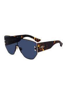 Christian Dior Addict1 Mirrored Shield Sunglasses