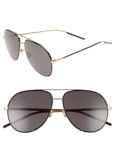 Dior Astrals 59mm Aviator Sunglasses