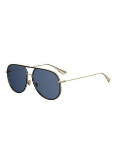 Christian Dior Dior Aviator Cutout Metal Sunglasses