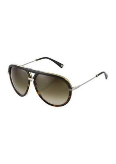 Christian Dior Dior Aviator Plastic/Metal Sunglasses