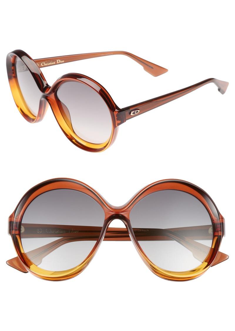 5d2c92cc00 Christian Dior Dior Bianca 58mm Round Sunglasses