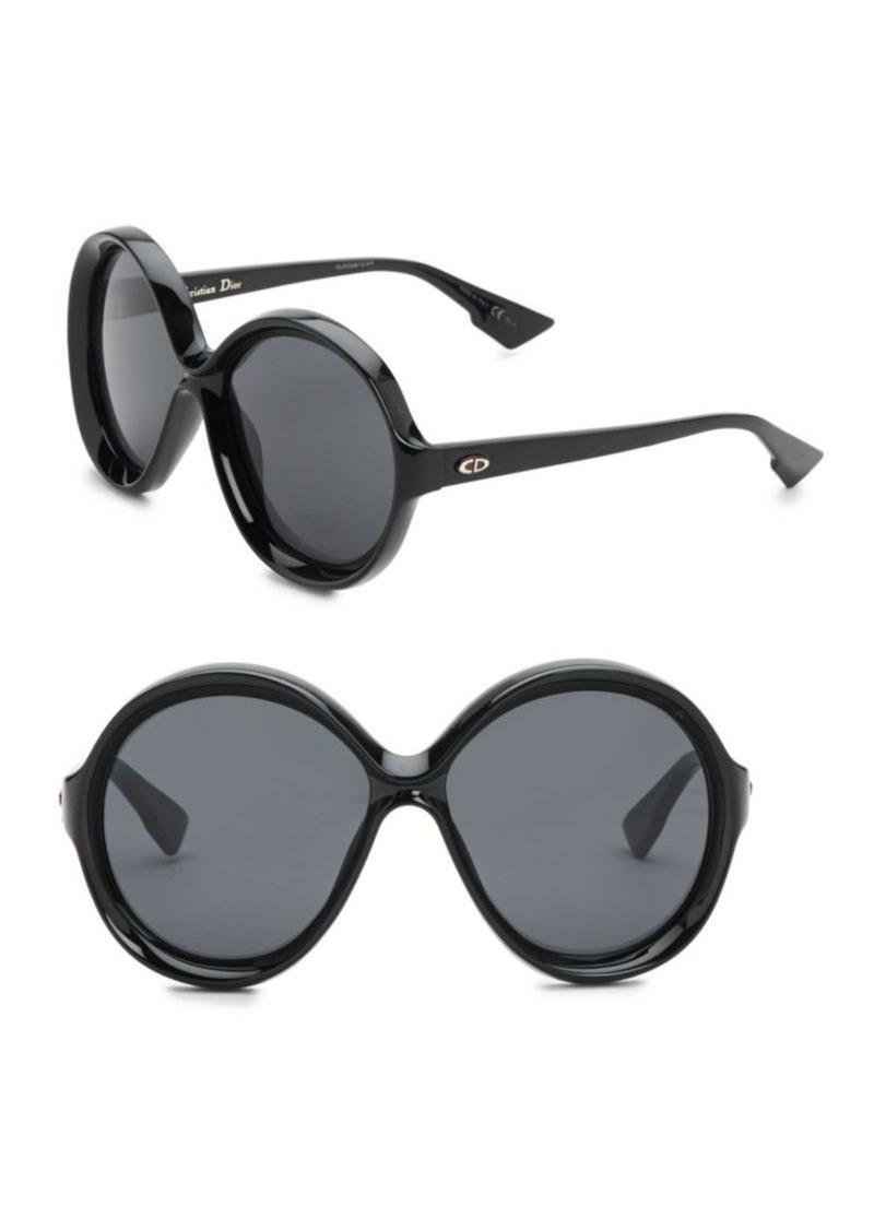 5c90df4da9 Christian Dior Dior Bianca 58MM Round Sunglasses