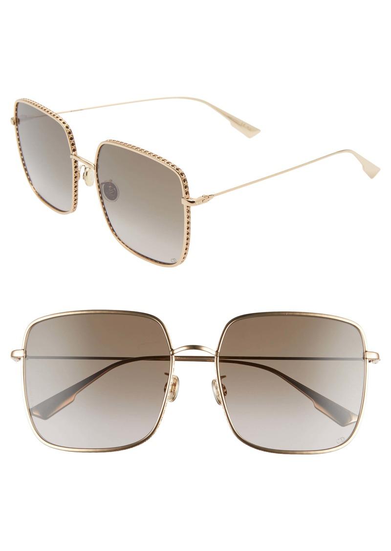 Christian Dior Dior Bydior3FS 59mm Square Sunglasses