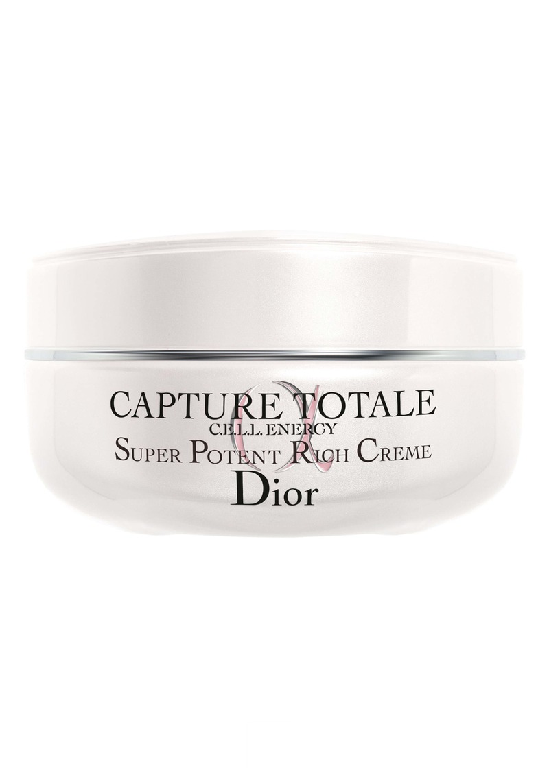 Christian Dior Dior Capture Totale Super Potent Rich Cream