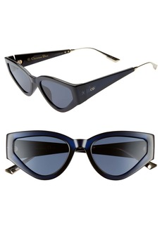 Christian Dior Dior Catstyle1 53mm Cat Eye Sunglasses