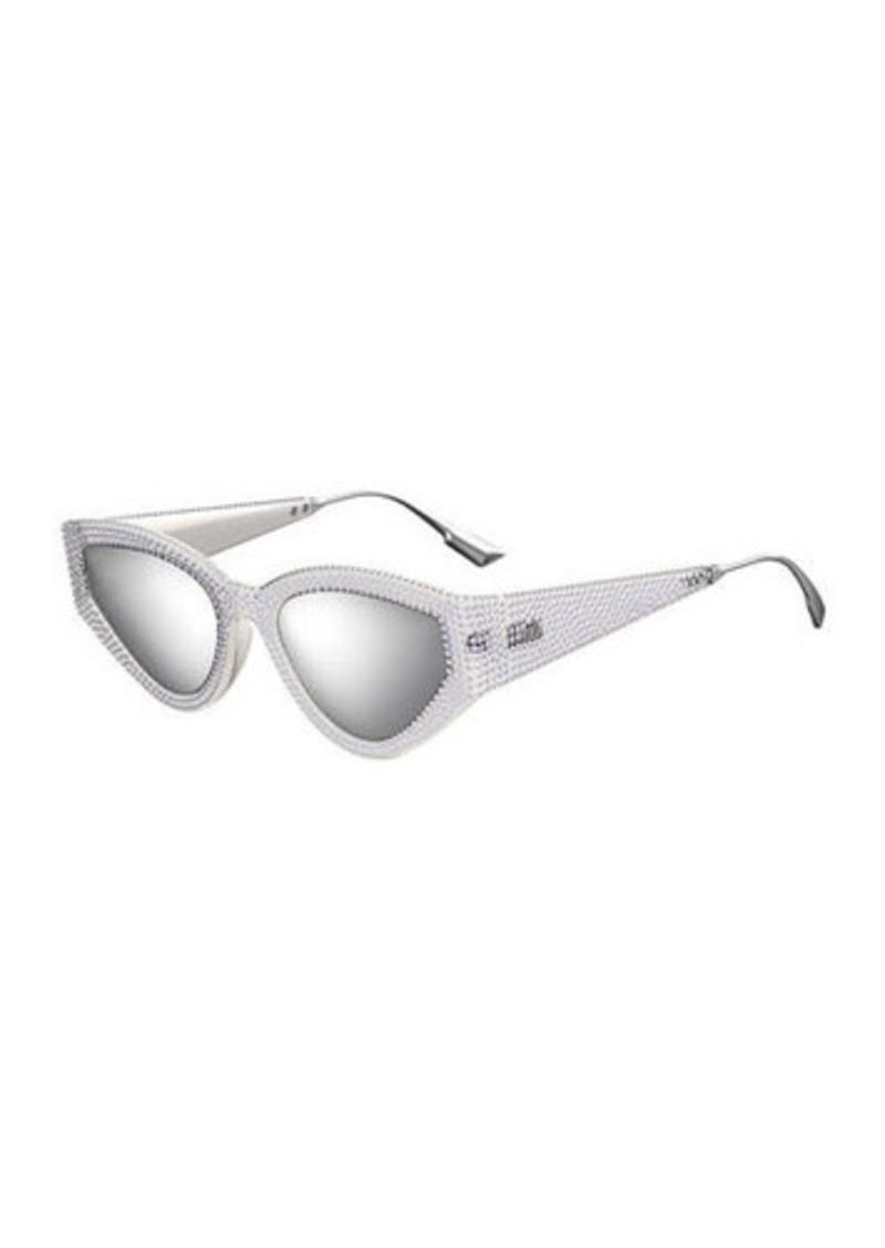 Christian Dior Dior CatStyleDior1 Crystal Cat-Eye Sunglasses