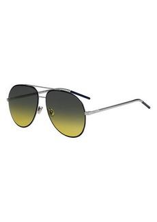 Christian Dior Dior Dior Astrals Metal Aviator Sunglasses
