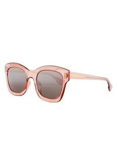 Dior Izon2 Square Transparent Sunglasses