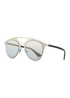 "Christian Dior ""Dior Reflected"" Peaked Aviator Sunglasses"