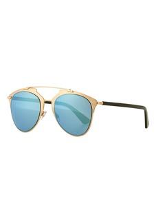 "Christian Dior Dior ""Dior Reflected"" Two-Tone Aviator Sunglasses"