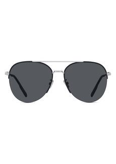 Christian Dior Dior Dior180 59mm Aviator Sunglasses