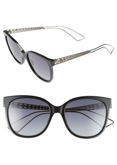 Dior Diorama 3 55mm Cat Eye Sunglasses