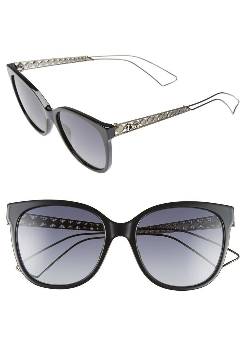 d55c816409 Christian Dior Dior Diorama 3 55mm Cat Eye Sunglasses