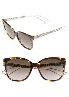Dior Diorama 55mm Cat Eye Sunglasses