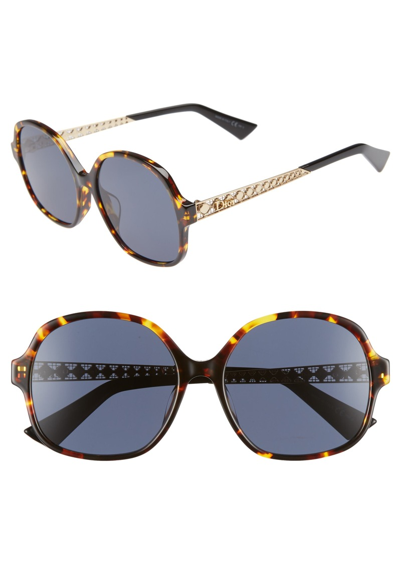 418688799fb8 Christian Dior Dior Diorama 58mm Special Fit Round Sunglasses ...