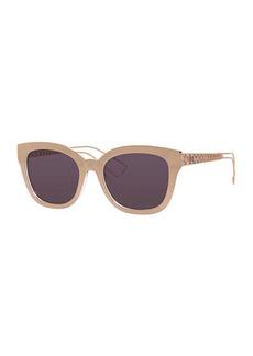 Christian Dior Diorama Caged Mirrored Sunglasses