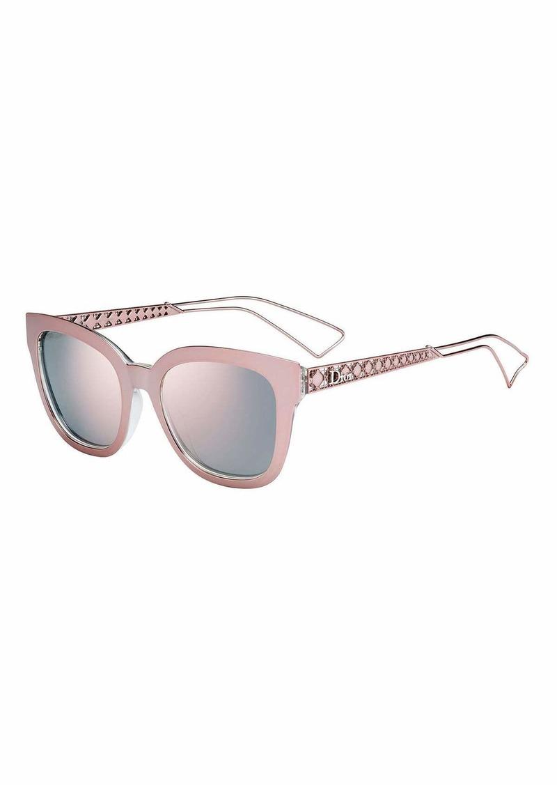 43629303aecc Christian Dior Diorama Caged Mirrored Sunglasses | Sunglasses