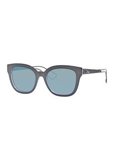 Christian Dior Dior Diorama Caged Mirrored Sunglasses