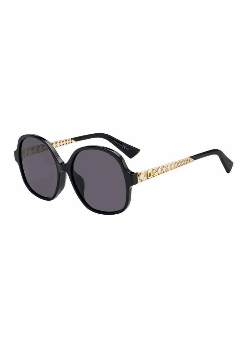 Christian Dior Dior Diorama Cannage-Temple Sunglasses Sunglasses