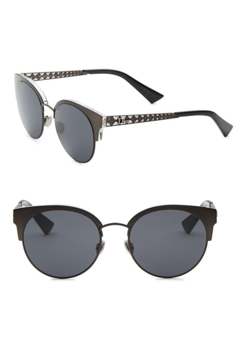 ecba04e0c0f6 Christian Dior Diorama Mini 54MM Mirrored Cat Eye Sunglasses ...