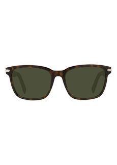 Christian Dior Dior DiorBlacksuit 55mm Tinted Square Sunglasses