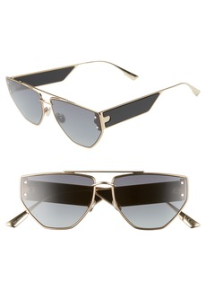 Christian Dior Dior DiorClan 2 61mm Aviator Sunglasses