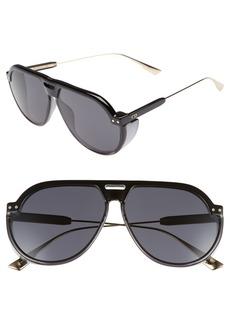 Christian Dior Dior DiorClub3S 61mm Pilot Sunglasses