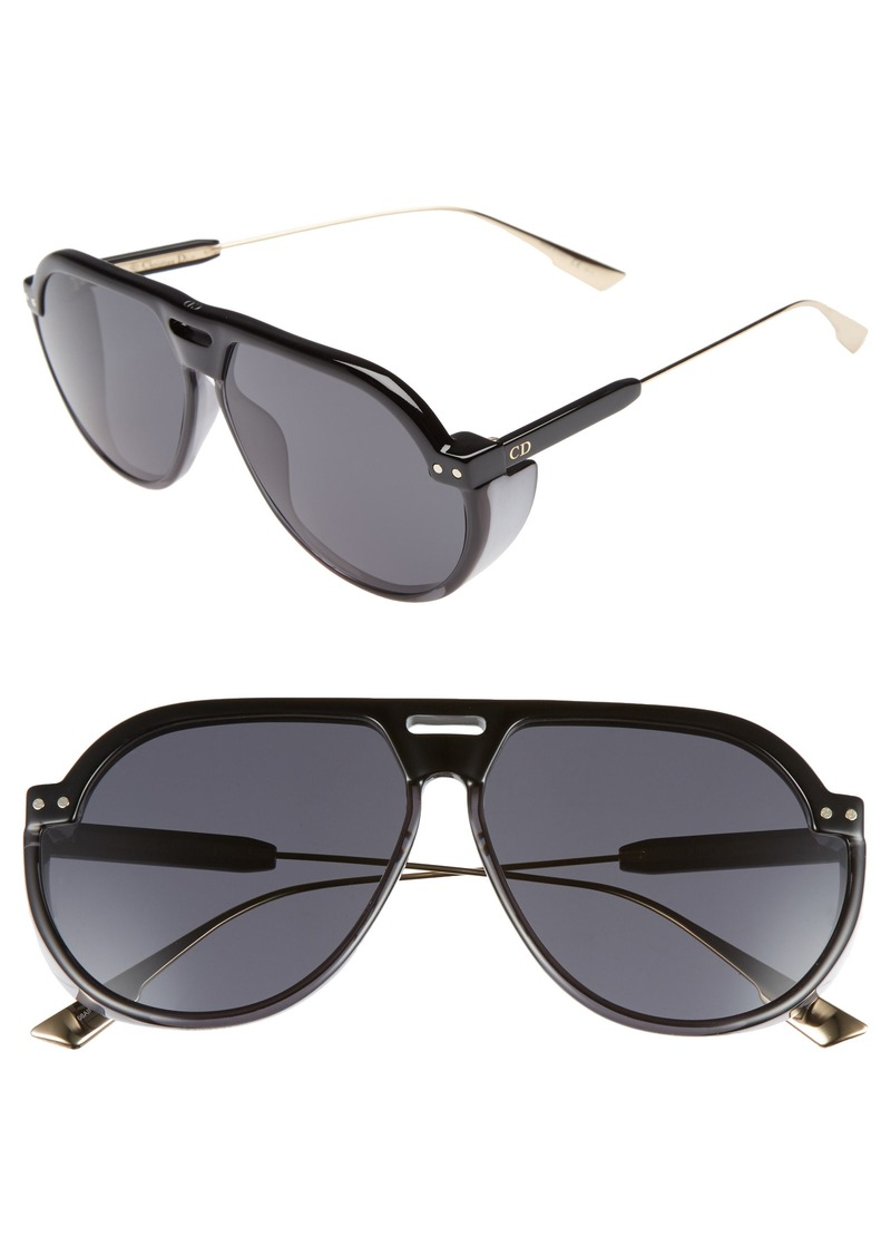 f044e90c678 Christian Dior Dior DiorClub3S 61mm Pilot Sunglasses