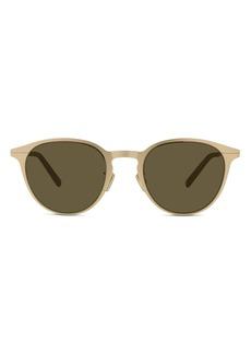Christian Dior Dior DiorEssential 50mm Round Sunglasses
