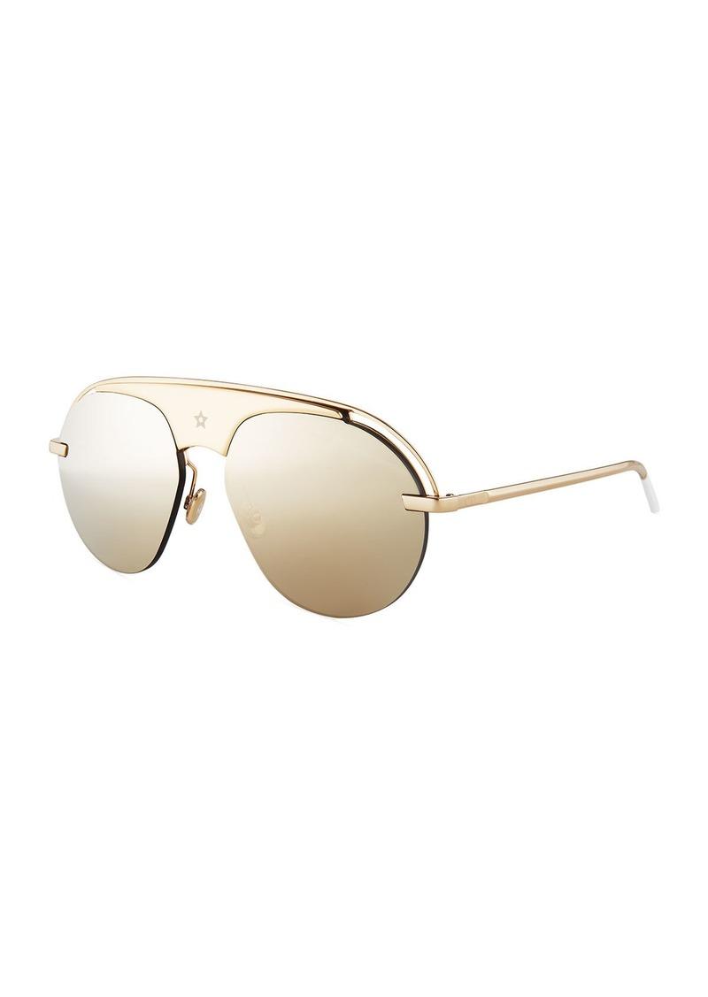 Christian Dior Dior Dio(R)evolution Mirrored Aviator Sunglasses