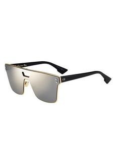 Christian Dior Dior Diorizon Mirrored Shield Sunglasses