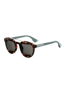Christian Dior Dior DiorMania1 Round Acetate Sunglasses