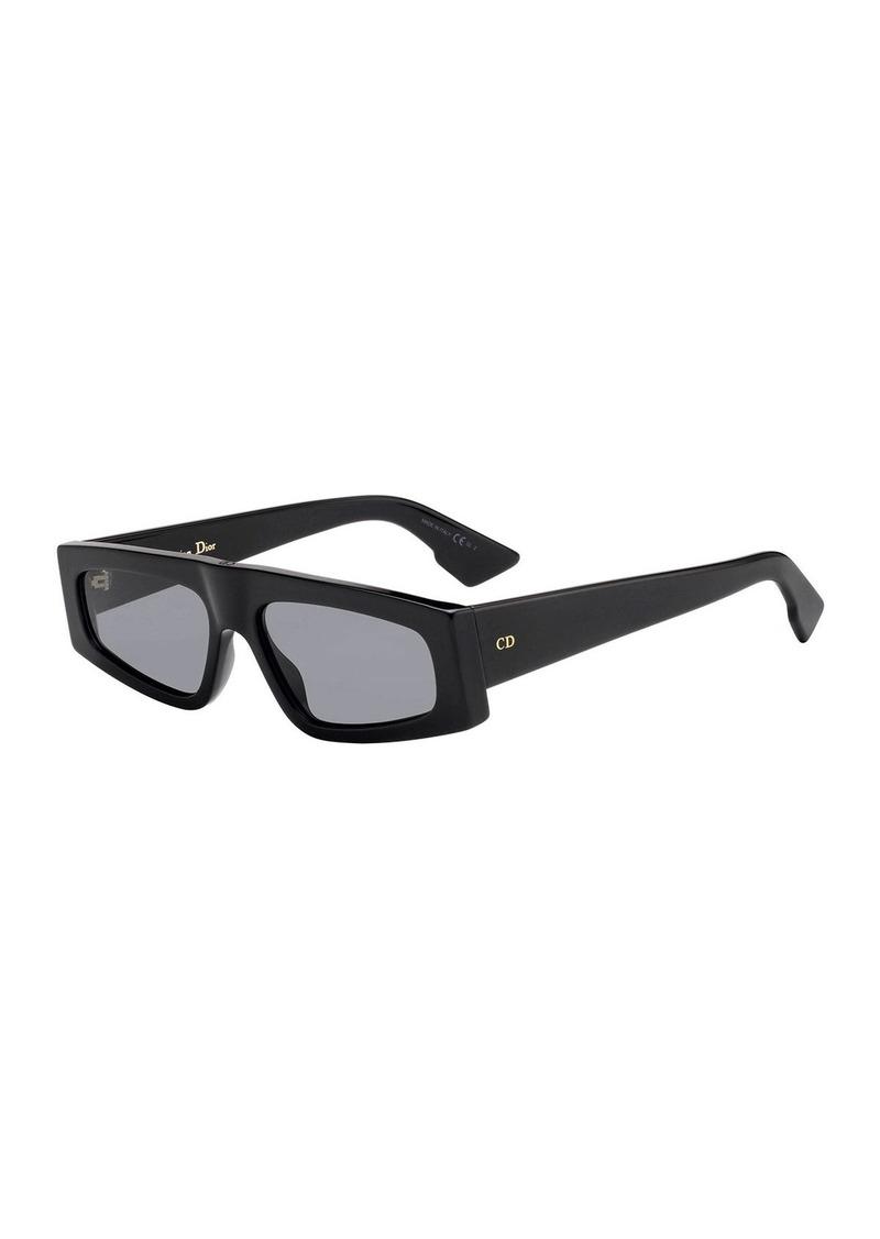Christian Dior Dior DiorPower Rectangle Acetate Sunglasses