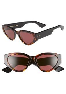 Christian Dior Dior Diorspirit 2 52mm Cat Eye Sunglasses