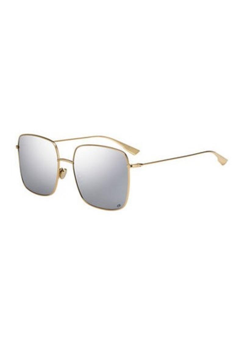 Christian Dior Dior DiorStellaire Square Metal Sunglasses